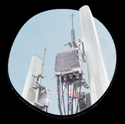 5G zendmast nobotel IOT